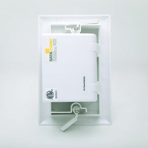 DataComm 45-0008-WH Bulk Cable Wall Plate Image 2