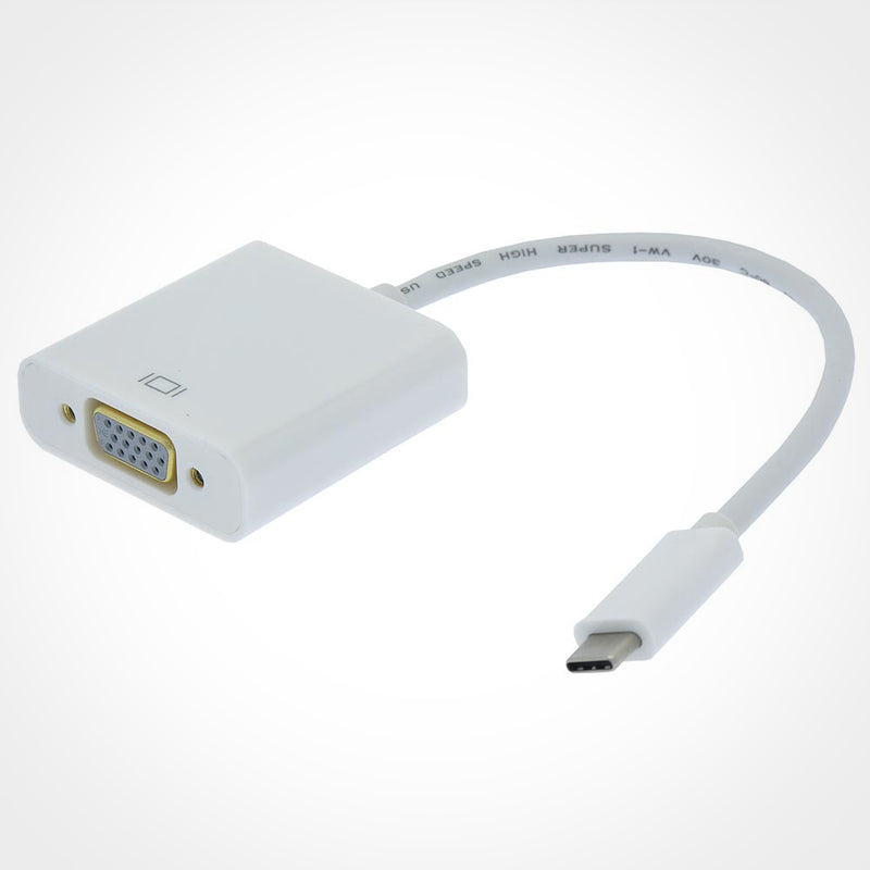 USB Type C to VGA Female Adapter