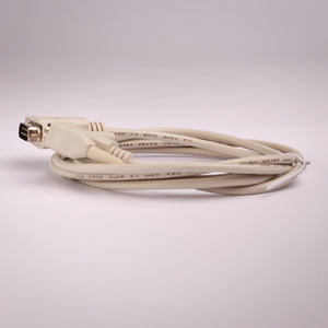 DB9 Serial Cable - 9C Straight Male to Male Alternative Side View