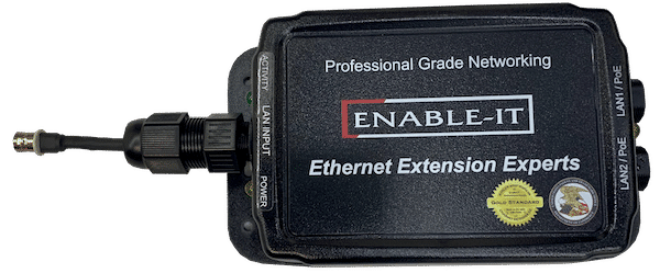Enable-IT 2-Port Coax Gigabit Ethernet Extender Kit