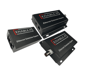 Enable-IT 1-Port Coax Gigabit PoE Extender Kit