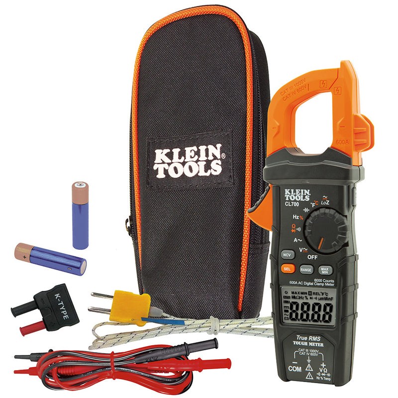 Klein Tools CL700 Digital Clamp Meter AC Auto-Ranging LoZ