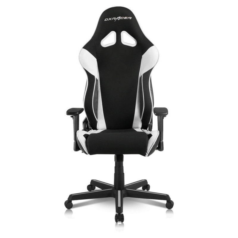 DXRacer Racing Series Conventional Strong Mesh and PU Leather Gaming Chair, OH/RAA106/NW