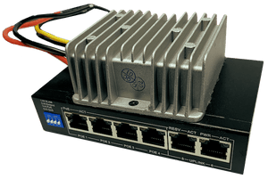 Enable-IT Automotive / Mobile Gigabit PoE 5 Port Switch