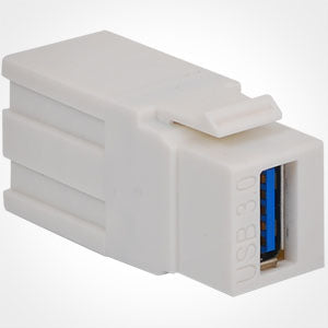 ICC USB 3.0 Keystone Jack - Female to Female