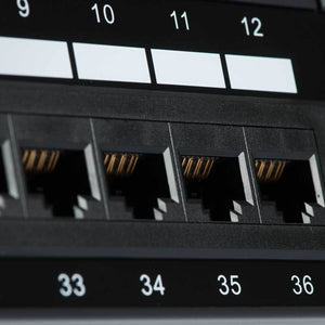 48 Port CAT6 Patch Panel Image 6 at FireFold.com