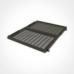 Great Lakes 1U Rackmount Shelf - 17.5 In Width x 28 In Depth