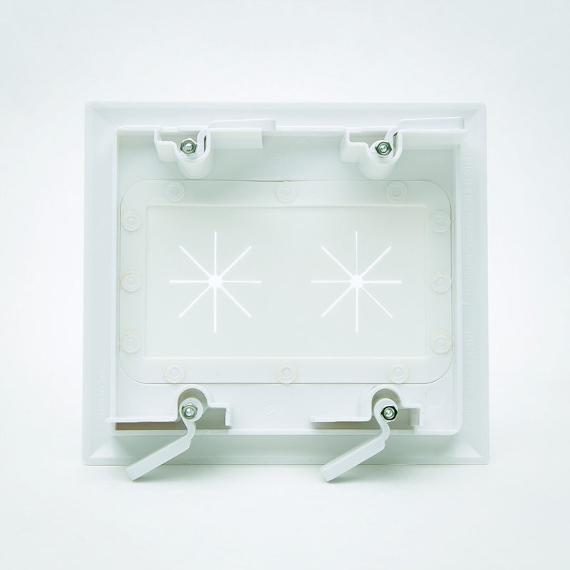 DataComm Bulk Cable Wall Plate with Flex Opening