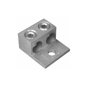Morris 90822 Aluminum Mechanical Connectors Two Conductors - One Hole Mount 800 MCM-300MCM