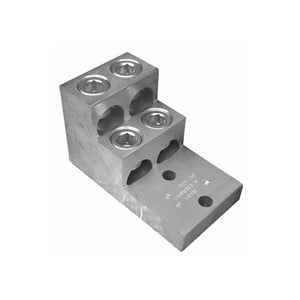 Morris 90924 Aluminum Mechanical Connectors Panelboard Connectors - 4 Conductors 600MCM-3/0