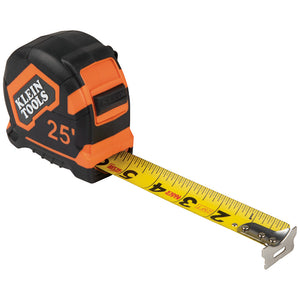 Klein Tools Tape Measure, 25-Foot Single-Hook, 9125