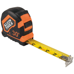 Klein Tools Tape Measure, 30-Foot Magnetic Double-Hook, 9230