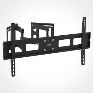 Full Motion Corner TV Wall Mount Bracket, 37-63 Inch Screens
