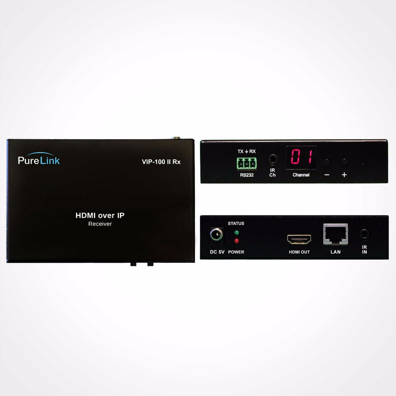 PureLink AV HDMI over IP Distribution System with PoE