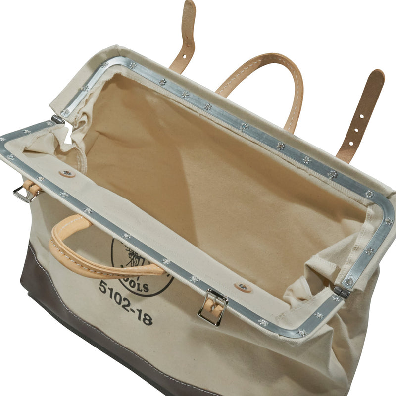 Klein Tools 5102-18 18 Inch Canvas Tool Bag