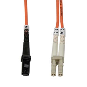 LC-MTRJ Multimode Duplex 50/125 Fiber Optic Cable