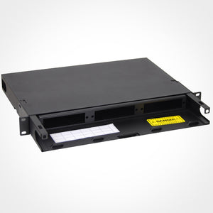 ICC ICFORE31RM Slide Out Fiber Optic Rack Enclosure Image 3