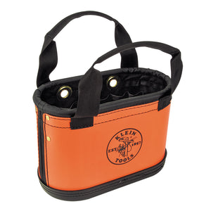 Klein Tools 5144HBS Hard Body Oval Bucket Orange/Black