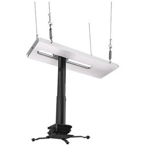 Crimson-AV JKS3-24A 18 to 24 Inch Suspended Projector Ceiling Mount with JR3 Universal Adapter (up to 60lbs)