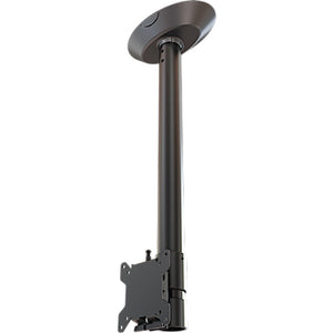 Crimson-AV Complete Ceiling TV Mount Installation Kit for 10-32 Inch Screens, 18 Inch Drop