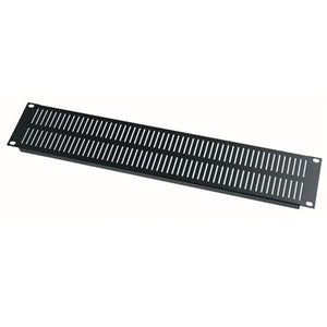 Middle Atlantic 2 Space Steel Vent Panel - Flat Finish