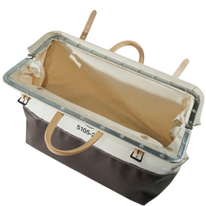 Opened Canvas Tool Bag