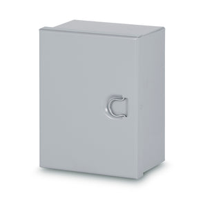 Austin AB-12126HCG 12x12x6 Type 1 Hingecover Junction Box - No ko's, Painted ANSI 61 Gray