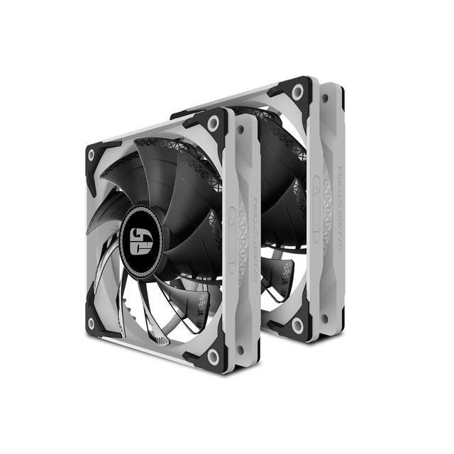 DEEPCOOL CASTLE 240 EX WHITE CAPTAIN 240EX RGB V2, AIO Liquid CPU Cooler, Anti-Leak Technology Inside, Sync RGB Waterblock and Fans, TR4/AM4 Supported