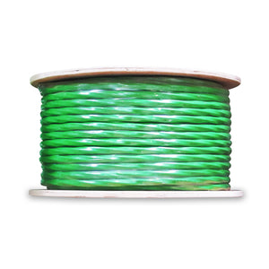 WaveNet 2 Cat6 + 2 RG6 Quad 500' Reel, ETL - Green