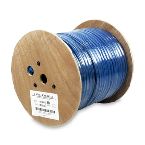 WaveNet 1Cat5e + 1 RG6 Quad Reel, 500ft