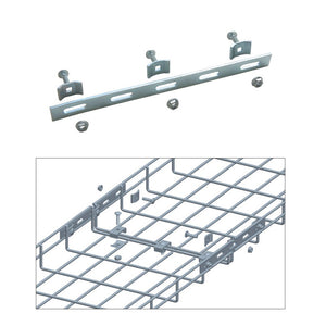 Quest Cable Tray Strengthening Bar Kit, Zinc