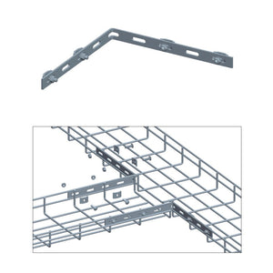 Quest Cable Tray Corner Bar Kit, Zinc