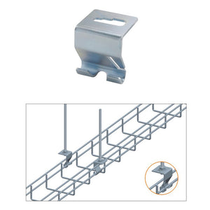 Quest Cable Tray Ceiling Hanging Hooks, Zinc