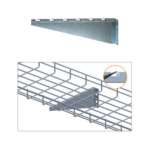 Quest Cable Tray Wall Bracket, Zinc