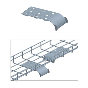 Quest Cable Tray Guider, Zinc
