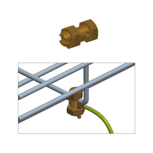 Quest Cable Tray Grounding Bolt, Copper