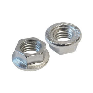 Quest Zinc Flanged HEX Nut For Cable Tray