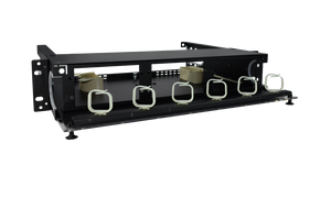 Techlogix Networx Fiber Rack-Mount Distribution Unit - 6 Panel Slots