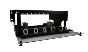 Techlogix Networx Fiber Rack-Mount Distribution Unit - 12 Panel Slots