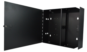 Techlogix Networx Fiber Wall-Box Enclosure - 4 Panel Slots