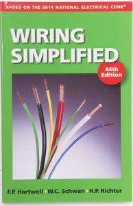 Gardner Bender Wiring Simplified 44th Edition - DIY Electrical Installation Guide, ERB-WS