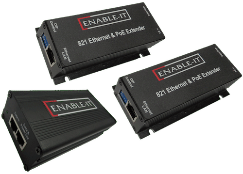 Enable-IT 1-Port PoE Extender Kit  - 100Mbps PoE over 1-pair wiring
