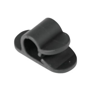 Gardner Bender GCC-001 Cord Clip, 1 Hole, 3 Pk, Black, 3 Piece