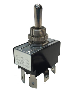 Gardner Bender DPDT On-Off-On O-Ring Toggle Switch, GSW-126