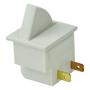 Gardner Bender Square Momentary Contact Refrigerator Switch Momentary On, GSW-RSC