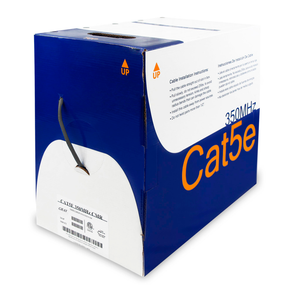 Cat5e Cable With CMR-Rated PVC Jacket, FTP & ETL - Gray