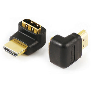Quest HDI-1503 HDMI 2.0 A(M) to A(F) Adapter 90 Degree