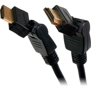 Quest HDMI 2.0 High-Speed Swivel Cable with Ethernet (6-12ft)