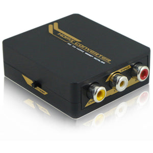 Quest HDI-6103 COMPOSITE AV TO HDMI CONVERTER WITH SCALER, 1080P
