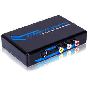 Quest HDI-6105 AV & S-VIDEO TO HDMI SCALER